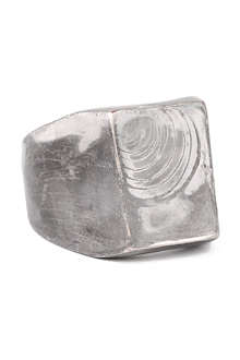 MAISON MARTIN MARGIELA Rusty face ring