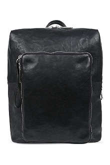 MAISON MARTIN MARGIELA Detachable-pouch leather backpack
