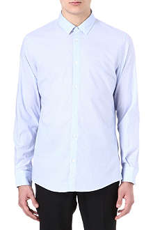 MAISON MARTIN MARGIELA Envelope-collar checked-print shirt