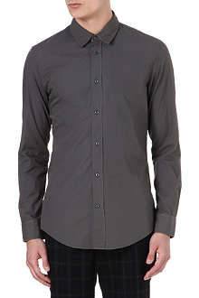 MAISON MARTIN MARGIELA Regular-fit cotton-poplin shirt