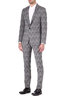 MAISON MARTIN MARGIELA Shadow check suit