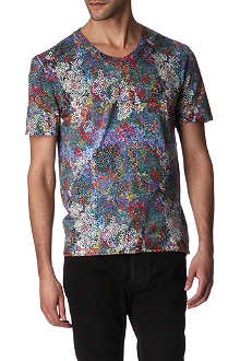 MAISON MARTIN MARGIELA Multi-print cotton t-shirt