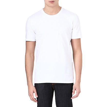 MAISON MARTIN MARGIELA Memory pocket t-shirt (White