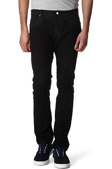 MAISON MARTIN MARGIELA Stretch-denim slim-fit straight jeans