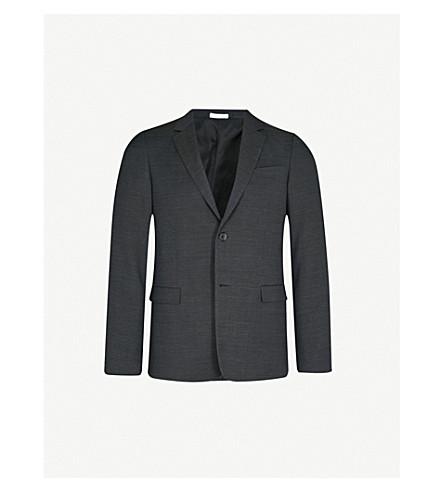 JIL SANDER Paola tailored-fit wool jacket (Charcoal