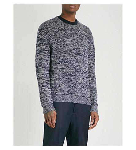JIL SANDER Melange cashmere jumper (Grey