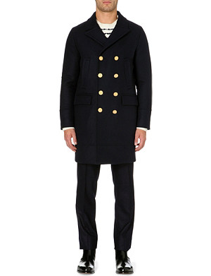 VALENTINO Button-down long-sleeved coat