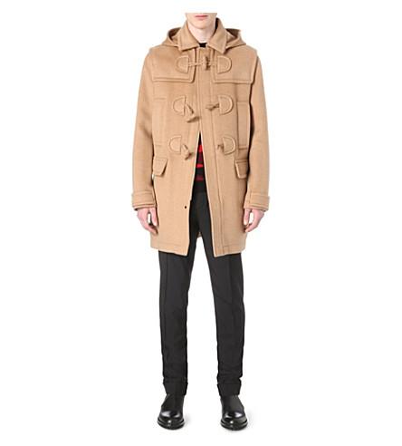 VALENTINO Hooded duffle coat (Camel