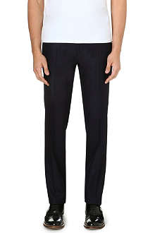 VALENTINO Slim-fit straight leg wool trousers