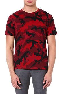 VALENTINO Camo print t-shirt