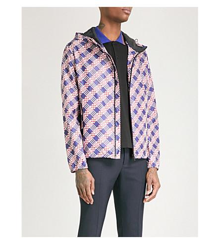 FENDI Geometric logo-print shell windbreaker jacket (Multi