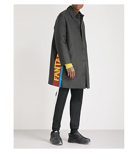 FENDI Fantastic twill coat (Blk