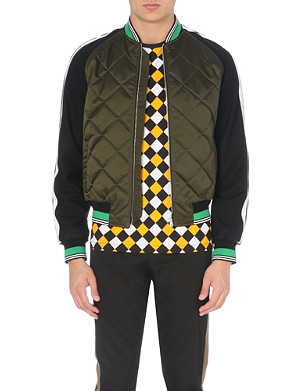 JONATHAN SAUNDERS Clarke quilted bomber jacket