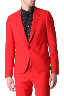PAUL SMITH MAINLINE Button notch cropped blazer