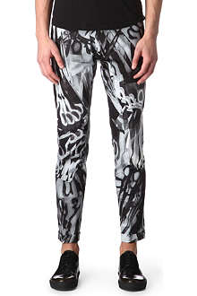 PAUL SMITH MAINLINE Scissor-printed trousers