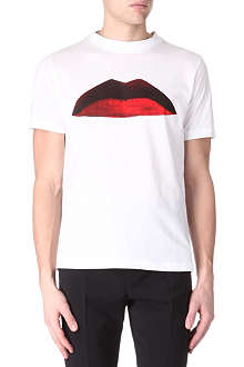 PAUL SMITH MAINLINE Lips print t-shirt