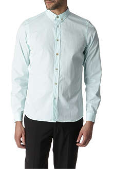 PAUL SMITH MAINLINE Button-down collar single cuff shirt