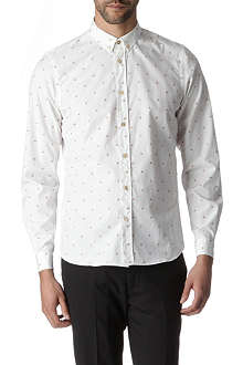 PAUL SMITH MAINLINE Cherry slim fit single cuff shirt