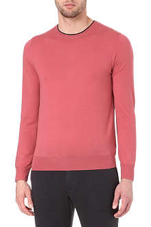 PAUL SMITH MAINLINE Layered-collar wool jumper