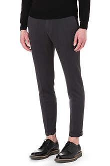 PAUL SMITH MAINLINE Flat-front cropped trousers
