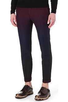 PAUL SMITH MAINLINE Dégradé cropped trousers