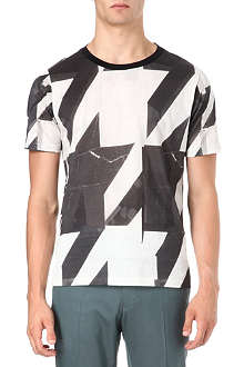 PAUL SMITH MAINLINE Oversized houndstooth t-shirt
