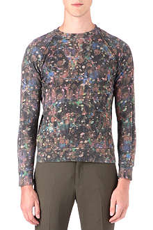 PAUL SMITH MAINLINE Splatter-print sweatshirt