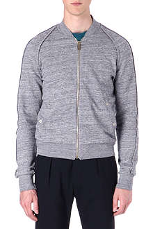 PAUL SMITH MAINLINE Marl jersey bomber sweatshirt