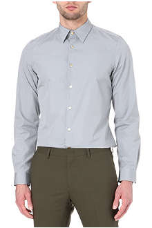 PAUL SMITH MAINLINE Basic slim-fit single-cuff shirt