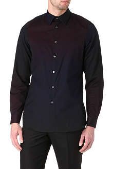 PAUL SMITH MAINLINE Dégradé panel single-cuff shirt