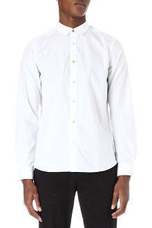 PAUL SMITH MAINLINE Penny collar slim-fit shirt