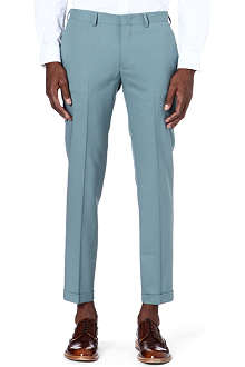 PAUL SMITH MAINLINE Slim fit turn-up trousers