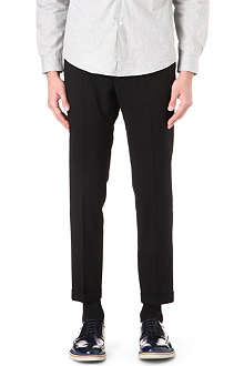PAUL SMITH MAINLINE Slim-fit turn-up trousers