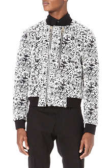 PAUL SMITH MAINLINE Hand-embellished bomber jacket