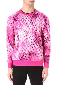 PAUL SMITH MAINLINE Mesh tie dye sweatshirt