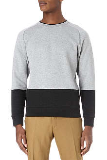 PAUL SMITH MAINLINE Panelled knitted jumper