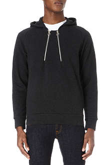 PAUL SMITH MAINLINE Zip-detail hoody