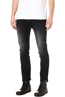 PAUL SMITH MAINLINE Slim-fit tapered jeans