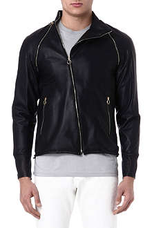 PAUL SMITH MAINLINE Leather jacket