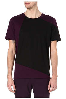 PAUL SMITH MAINLINE Multi-block panel t-shirt