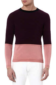 PAUL SMITH MAINLINE Bubble knitted jumper