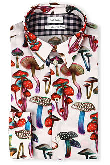 PAUL SMITH MAINLINE Mushroom-print shirt