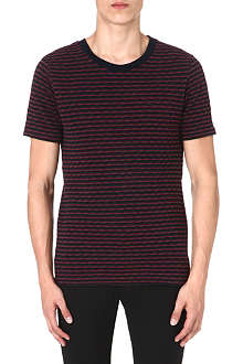 PAUL SMITH MAINLINE Weave pattern t-shirt