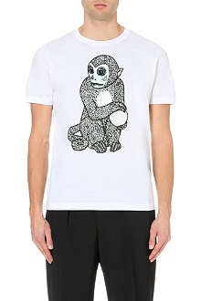 PAUL SMITH MAINLINE Monkey print t-shirt