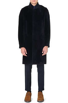 PAUL SMITH MAINLINE Textured single-breasted coat