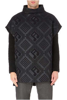 PAUL SMITH MAINLINE Music notes poncho
