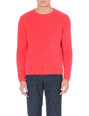 PAUL SMITH MAINLINE Textured knitted jumper