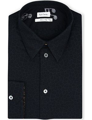 PAUL SMITH MAINLINE Animal-print slim-fit shirt