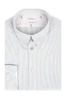 PAUL SMITH MAINLINE Striped button-down collar shirt