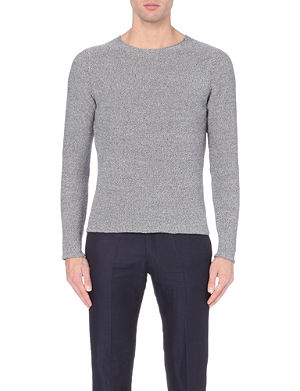 PAUL SMITH MAINLINE Waffle-knit cotton jumper